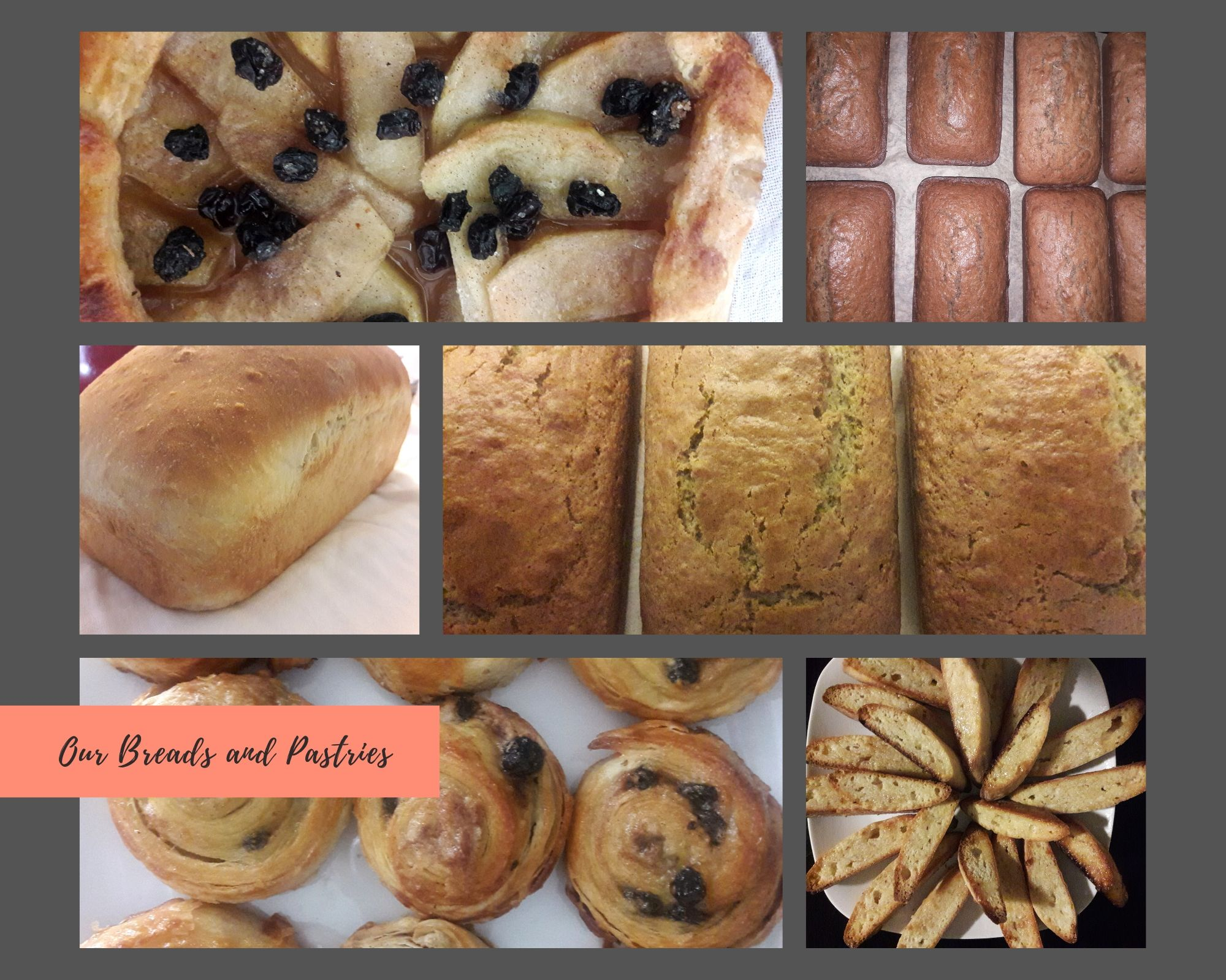 Our Breads and Pastries