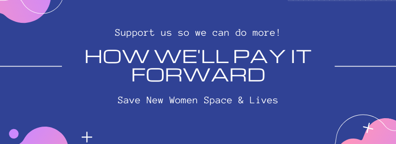 How New Women Space is paying it forward
