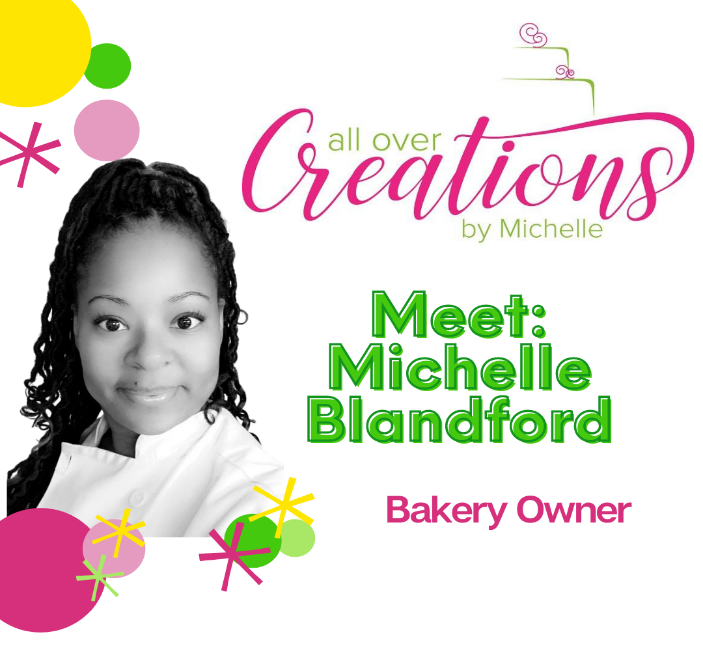 All Over Creations Bakery Owner, Michelle Blandford pictured.