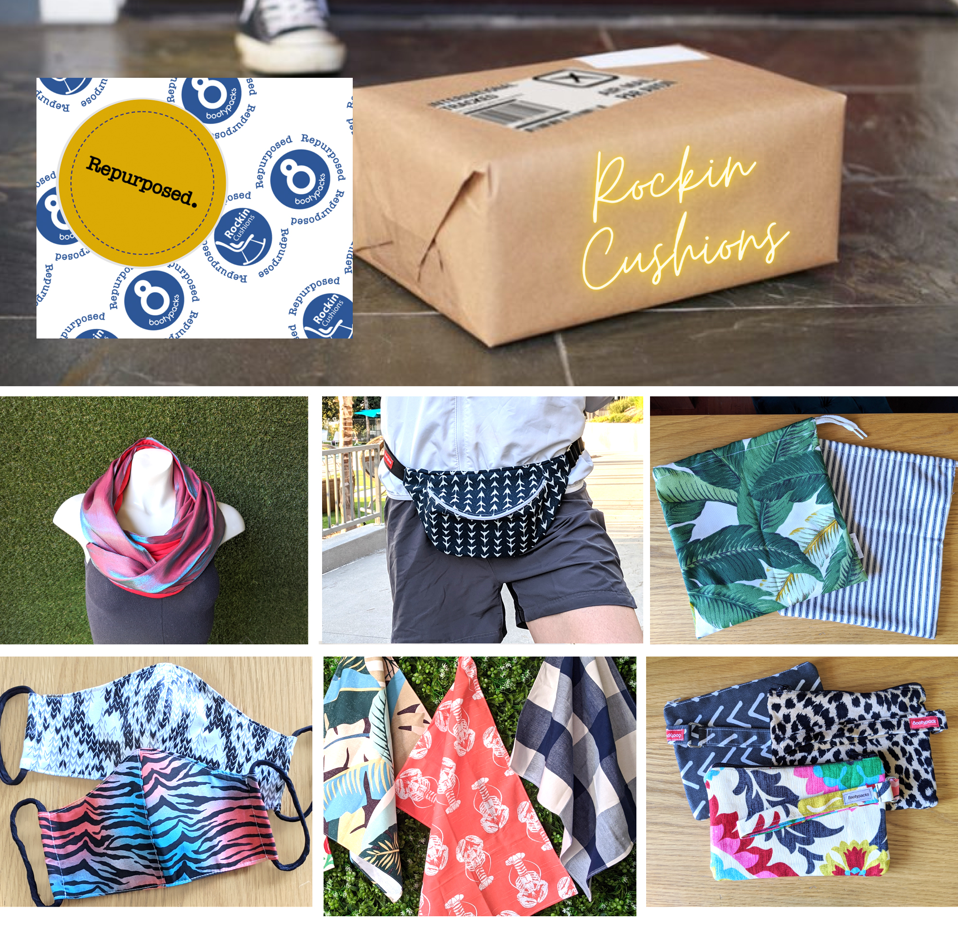 Bootypacks / Repurposed Subscription Box