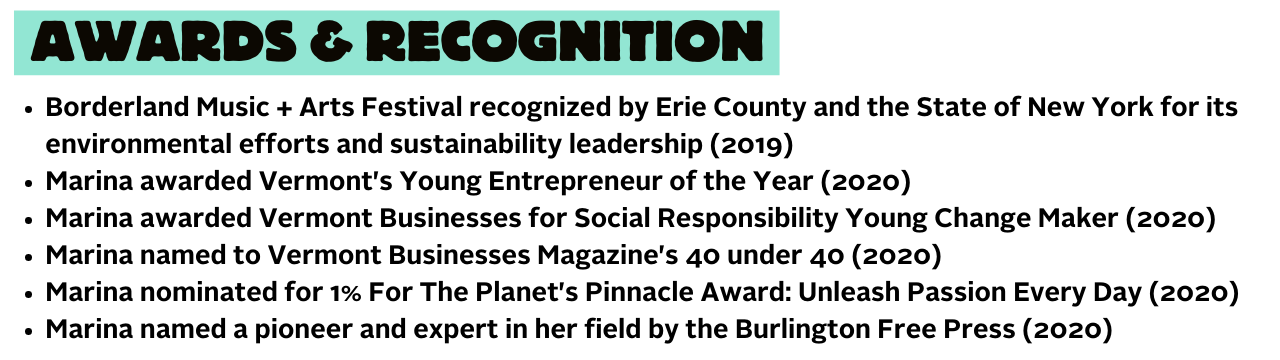 Waste Free Earth awards & recognition