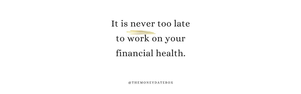 financial health quote
