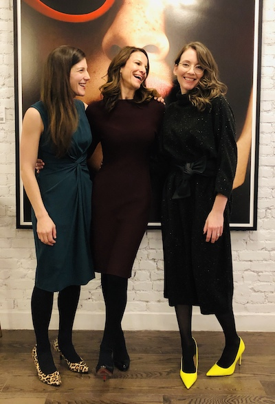Photo of 3 women smiling- cofounders of IFundWomen