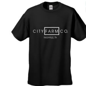 CITY FARM CO. - Structured Signature Tee (black)