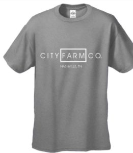 CITY FARM CO. - Structured Signature Tee (grey)