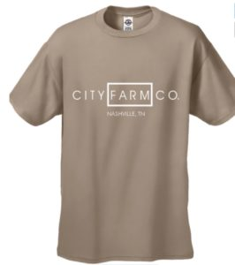 CITY FARM CO. - Structured Signature Tee (sand)