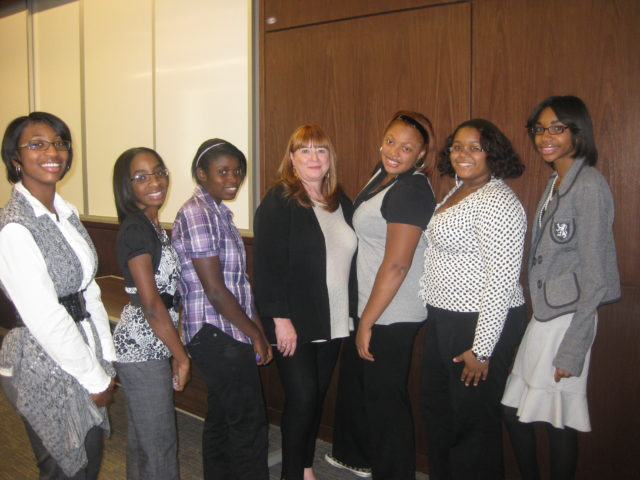 Future CEO Leaders at the Youth Civil Rights Conference with former City Council Member Sheila Cockrel