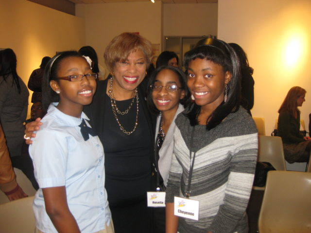 Future CEO Leaders at the Women in Leadership Forum with Southfield Mayor Brenda Lawrence