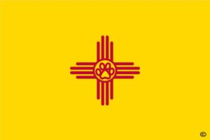 New Mexico State Paw Flag