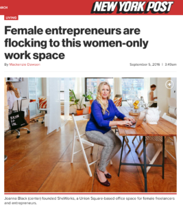 SheWorks Collective Featured Article in The New York Post