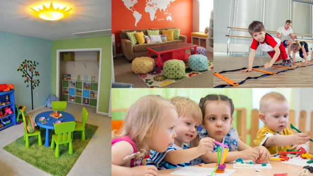 Inspiration for our childcare space