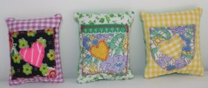 Vintage Fabric Mini Pillows